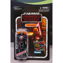 Star Wars Vintage 2012 Darth Malgus Con Capa De Tela Unico!
