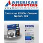 Cartucho Epson 197 Negro Original Caja Cerrada Xp201 Xp401