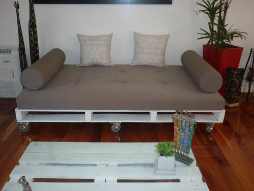 Sillon hecho con palets varias formas de utilizarlo for Sillones modernos precios argentina