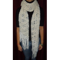 Pashmina De Hilo Verano Crochet