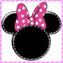 Kit Imprimible Minnie Mouse Rosa Decoración Candy Bar Fiesta