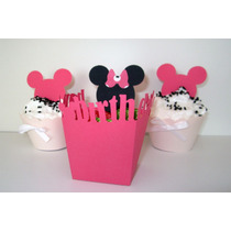 Cajas Souvenirs Cumple Disney Mickey Minnie Pluto Y Donald