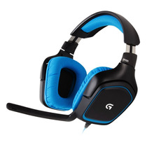 Headset Logitech G430 Usb Gamer 7.1 Surround Microfono