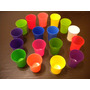 Vasos Plasticos Exc,calid 375 Cc Vs Colores X 10 Unid A $ 65