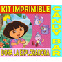 Kit Imprimible Candy Bar Dora La Exploradora