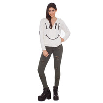 Campera Mujer 47 Street Smile Oficial