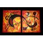 Cuadros Abstractos - Diptico - Original