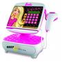 Caja Registradora Barbie Calculadora Visor Digital