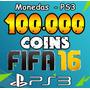 100.000 Monedas Fifa 16 Coins Ps3 - Mejor Precio