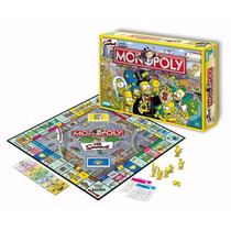 Monopoly The Simpsons - Hasbro