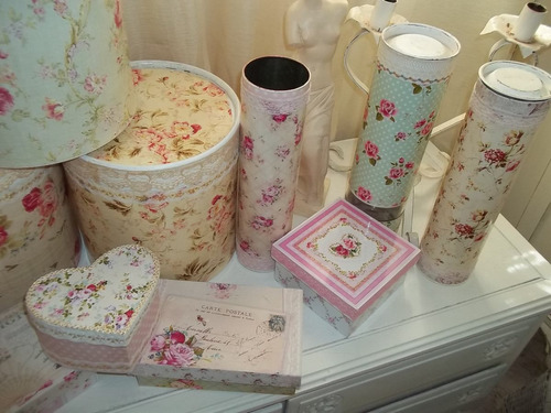 Estilo Shabby Chic Decoracion Fiestas ~ Cajas Victorianas Shabby Chic decoracion antiguo (Cajas) a ARS 90 en