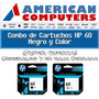 Cartuchos Hp 60 Negro+hp 60 Color-oferta Combo!2 Originales!
