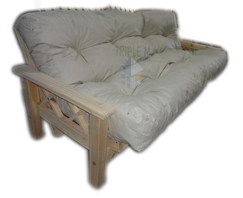 Futon 3 cuerpos colchon ecocuero el mas comodo 3 - Colchon de futon ...