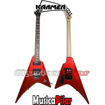 Guitarra Electrica Kramer Vanguard Cola Tiburon Musica Pilar