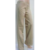 Cuesta Blanca Pantalon Tl/3, Lino Elastizado Beige (ana.mar)