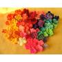 Florcitas Flores Tejidas Al Crochet Pack X 120 Deco Souvenir