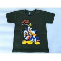 Oferta Remera Mickey Mouse & Friends Algodón Serigrafía