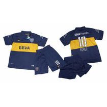 Conjunto De Boca Juniors Niño Kit Nike 100% Original!!