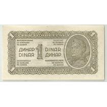 Yuguslavia 1 Dinar 1944 P48b Serie K