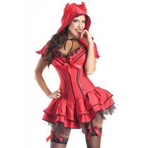 Disfraz Diablita Vestido Caperucita Disfraz Mujer Disfraces