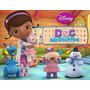 Doctora Juguetes! Doc Mcstuffins! Set X 5 + Base + 10 Access