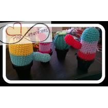 Cactus Al Crochet Parcreaciones