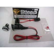 Toma Usb 12v Ridercraft Moto Combo Kit Insta. Cable& Fusible