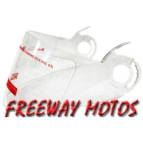 Visor Casco Vcan/ Max V-210 Rebatible En Freeway Motos