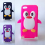 Funda Silicona 3d Pinguino Ipod Touch 5