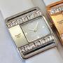 Reloj Kosiuko Watch 7736 Fashion Malla Cuero Mujer Ksk