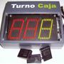 Turnero De 3 Dígitos Plaquetodo N° 40/3 (turno-caja)