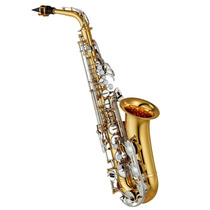 Saxo Alto Yamaha Yas-26 Gold Lacquer Nickel Plated Y Estuche