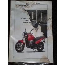 Jawa 350 Manual Usuario Original