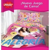 Sabanas Infantiles Soy Luna Originales Disney Piñata