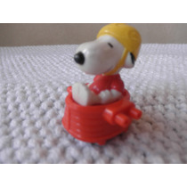 Muñeco Snoopy En Auto Mc Donalds