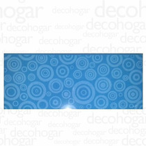 Revestimiento Porcelanato Brilloso Cartagena Azul X Pieza