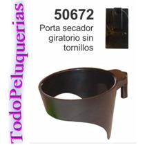 Soporte Posa / Porta Secador Giratorio Para Pared Peluqueria