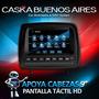 Apoyacabezas 9 Hd Lcd Tactil Caska Dvd Juegos Usb Sd Tv Sony
