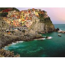 Rompecabezas Ravensburger De 2000 Piezas: Cinque Terre