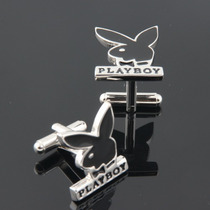 Gemelos Playboy Geek Cuff Links Retro Vintage Conejo Hombre