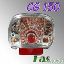 Farol Trasero Tunning C Giros Honda Cg Titan 150 Rx 150 Fas