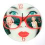 Reloj De Pared Diseño Marilyn Morph