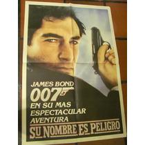 Afiches De Cine Antiguos Con James Bond