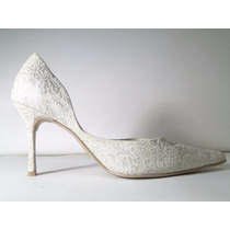 33 Designs - Art.702 - Zapato De Cuero Luis Xv Taco Forrado
