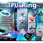 Tpu Silicona Ring Estampado Cool Huawei P8 Lite + Vidrio