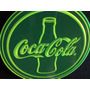 Posa Vasos De Coca Cola 3d Fluos! Lote X10 Unid.
