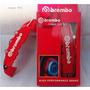 Cubre Calipers Brembo / Logo 3d / Rojo / Envíos / Abs