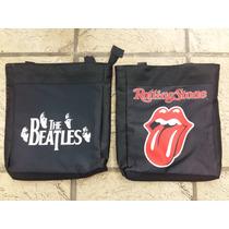 Bolsos Bolsas Cartera Rock Rolling Stones The Beatles Ramone