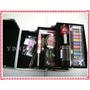 Maletin 2 Bandejas Con Maquillajes Portacosmeticos Ydnis