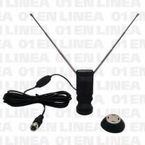 Antena Tda Tv Digital Activa Interior Magnetica Fullhd 20db